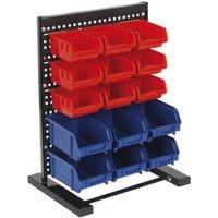 Bin Storage System Bench Mounting 15 Bin - Sealey