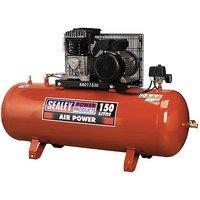 Sealey Tools Uk - Sealey SAC1153B Compressor 150ltr Belt