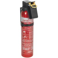Fire Extinguisher 0.6kg Dry Powder - Disposable - Sealey