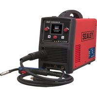 Inverter Welder MIG TIG and MMA 200A with LCD Screen - Sealey