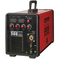 Sealey INVMIG200 200Amp Inverter MIG, TIG and MMA