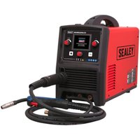 Sealey INVMIG200LCD Inverter Welder MIG, TIG and MMA 200Amp with LCD Screen