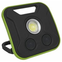 Sealey LED200WS Floodlight/Power Bank with Wireless Speakers 20W COB Rechargeable