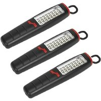 Sealey LED307 Cordless 30 SMD + 7 LED Lithium-Ion Rechargeable Inspection Torch