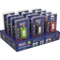 Sealey R/Charge Head Torch Auto-Sensor 2W COB LED Box of 12