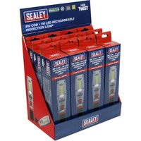 Rechargeable Inspection Light 8W - Display Box of 12 - Sealey