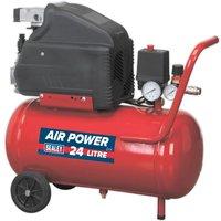 Sealey SA2415 Compressor 24L Direct Drive 1.5hp