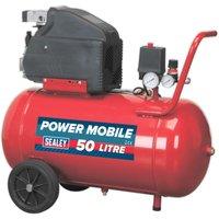 Sealey SA5020 Compressor 50L Direct Drive 2hp