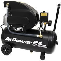 SAC2420A Compressor 24L Direct Drive 2hp - Sealey