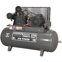 Sealey SAC32775B Compressor 270L Belt Drive 7.5hp 3ph