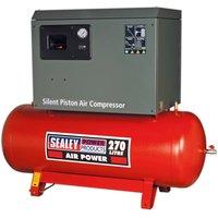 Sealey SAC42755BLN Compressor 270L Belt Drive 5.5hp 3ph 2-St