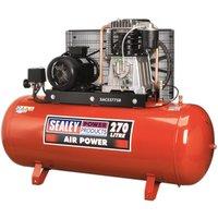 SAC52775B Compressor 270L Belt Drive 7.5hp 3ph 2-Stage with