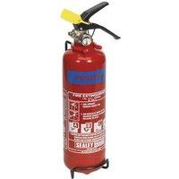 SDPE01 1kg Dry Powder Fire Extinguisher - Sealey