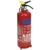 Sealey SDPE02 2kg Dry Powder Fire Extinguisher