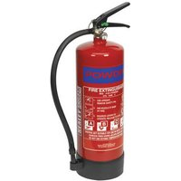 Sealey SDPE06 6kg Dry Powder Fire Extinguisher