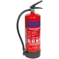 Sealey SDPE06 Fire Extinguisher 6kg Dry Powder