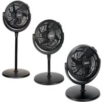 Sealey 3-Speed Multi Position-able 12 Inch Desk and Pedestal Floor Fan SFF12DP