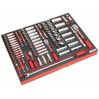 TBTP02 Tool Tray with Socket Set 91pc 1/4, 3/8 and 1/2Sq Drive - Sealey