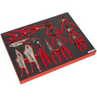 TBTP05 Tool Tray with Pliers Set 14pc - Sealey