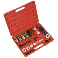 Sealey VS0457 21pc Fuel and Air Conditioning Disconnection Tool Set