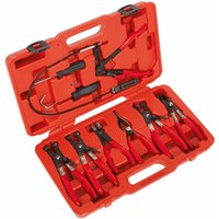 Sealey VS1662 Hose Clamp Removal Tool Set 7pc