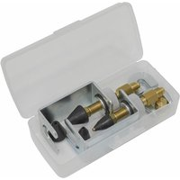 Sealey VSAC135 Air Conditioning Pressure Test Connector Kit 13pc