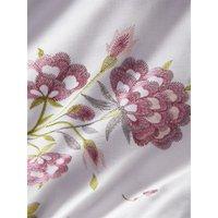 Secret Garden Super King Size Duvet Cover Set Lavender Reversible Bedding