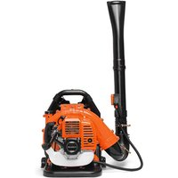 Boudech - Semi-Professional Petrol Backpack Leaf Blower 43cc 2-Stroke engine, 1.25Kw and 150Km/h. max speed.