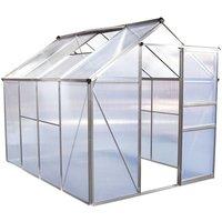 Serre jardin polycarbonate 'Hortensia' 4,8m² - HABITAT ET JARDIN
