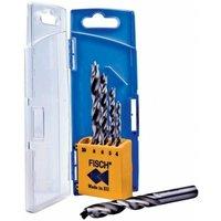 Set Drill Bit To Wood Hss Profi 5- Pieces 4-10Mm R Fisch