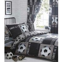 Bedmaker - Shoot Double Duvet Cover Set Childrens Bedroom Bedding Quilt Bed Set