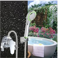 Shower Faucet Rain Shower Switch Set Water Heater Mixer Faucet Open Hose Hot and Cold Water Faucet