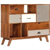 Youthup - Sideboard 115x35x86 cm Solid Acacia Wood