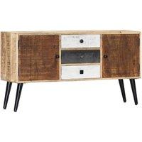 Sideboard 118x30x62 cm Solid Mango Wood - Brown