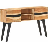 Youthup - Sideboard 120x30x75 cm Solid Acacia Wood