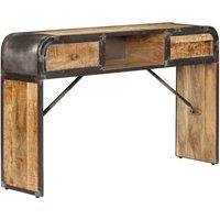 Zqyrlar - Sideboard 120x30x75 cm Solid Mango Wood - Brown