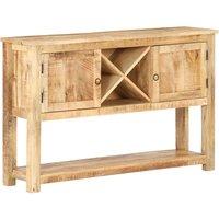 Betterlifegb - Sideboard 120x30x76 cm Rough Mango Wood26517-Serial number
