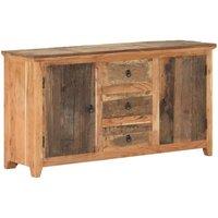 Sideboard 140x40x75 cm Solid Reclaimed Wood - Brown - Vidaxl