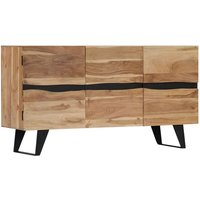 vidaXL Sideboard 150x40x79 cm Solid Acacia Wood - Brown