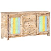 Sideboard 151x40x75 cm Rough Acacia Wood - YOUTHUP