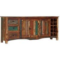 Sideboard 195x40x80 cm Solid Reclaimed Wood - VIDAXL