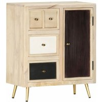 Zqyrlar - Sideboard 60x30x75 cm Solid Mango Wood - Brown