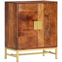 vidaXL Sideboard 60x35x75 cm Solid Acacia Wood - Brown