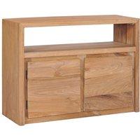 Sideboard 80x30x60 cm Solid Teak Wood - VIDAXL
