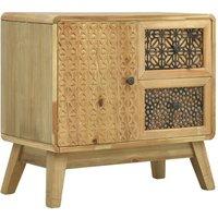 Zqyrlar - Sideboard Brown 60x30x56.5 cm Wood - Brown