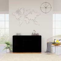 Sideboard High Gloss Black 120x36x69 cm Chipboard - YOUTHUP
