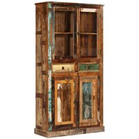 Sideboard Reclaimed Wood 95x39x185 cm - YOUTHUP