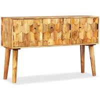 Youthup - Sideboard Solid Mango Wood 118x35x75 cm