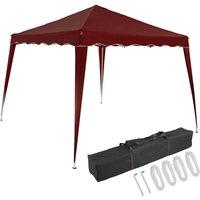 Pavilion 3x3m UV Protection 50+ Waterproof Foldable incl. Bag Folding Pavilion Capri Party Tent Garden Pop Up Tent Red