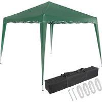 Pavilion 3x3m UV Protection 50+ Waterproof Foldable incl. Bag Folding Pavilion Capri Party Tent Garden Pop Up Tent Green